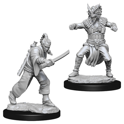 Dungeons & Dragons: Nolzur's Marvelous Unpainted Miniatures: Male Human Monk
