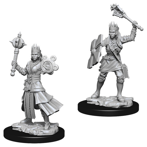 Dungeons & Dragons: Nolzur's Marvelous Unpainted Miniatures: Female Human Cleric