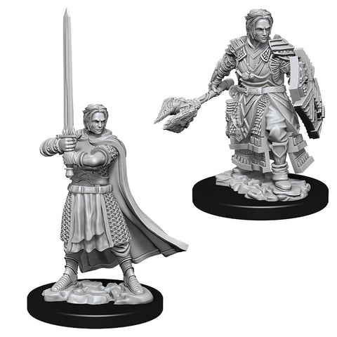 Dungeons & Dragons: Nolzur's Marvelous Unpainted Miniatures: Male Human Cleric