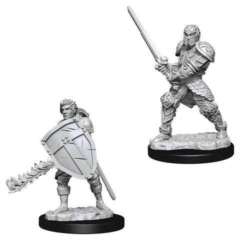 Dungeons & Dragons: Nolzur's Marvelous Unpainted Miniatures: Male Human Fighter