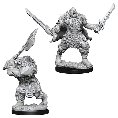 Pathfinder Deep Cuts Unpainted Miniatures: Orcs