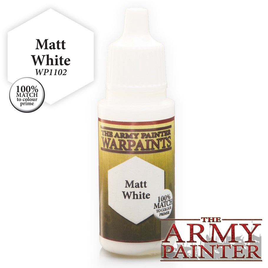 Warpaints: Matt White 18ml