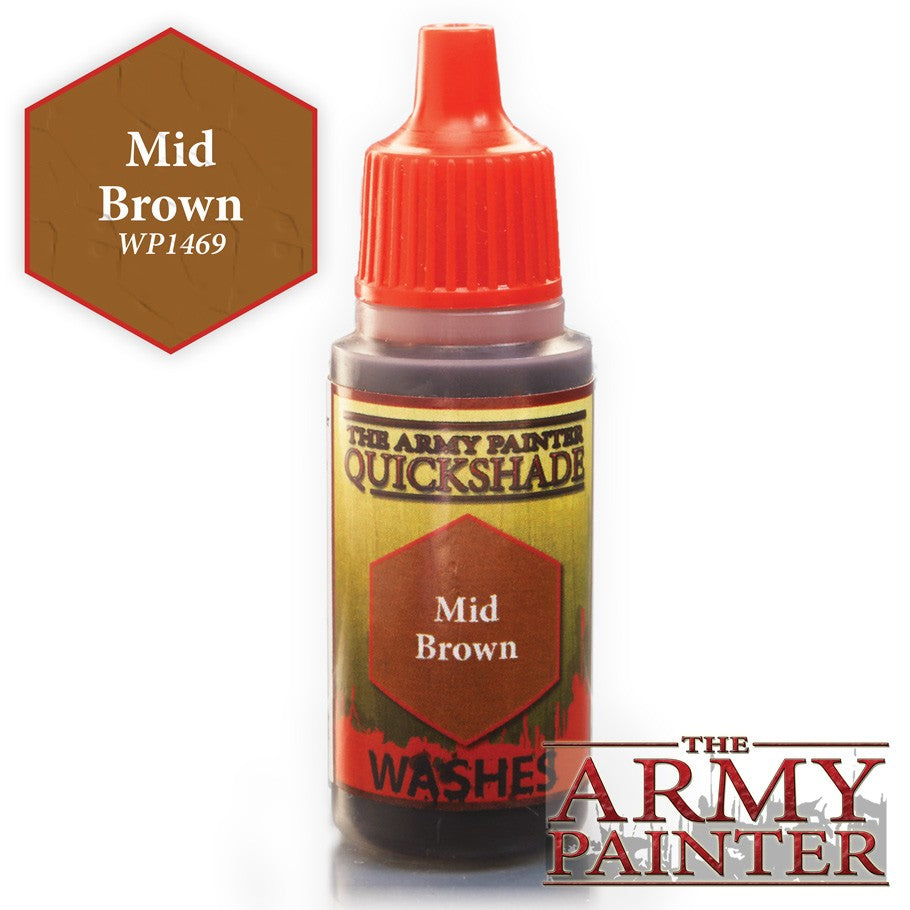 Warpaints: Mid Brown 18ml