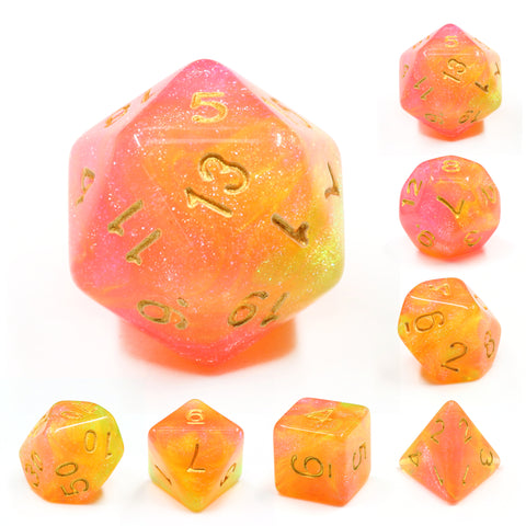 Summer Galaxy Dice Set