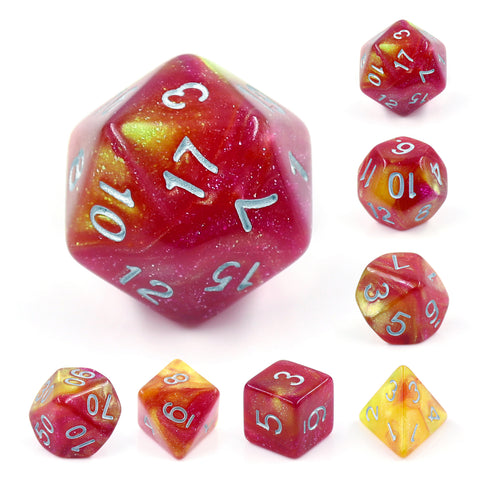 Solar Wind Dice Set