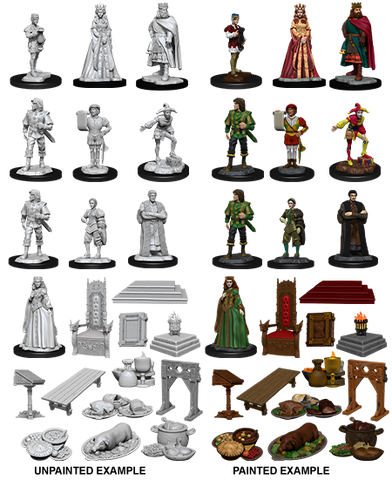 Wizkids Deep Cuts: Towns People: Castle I - Royal Court