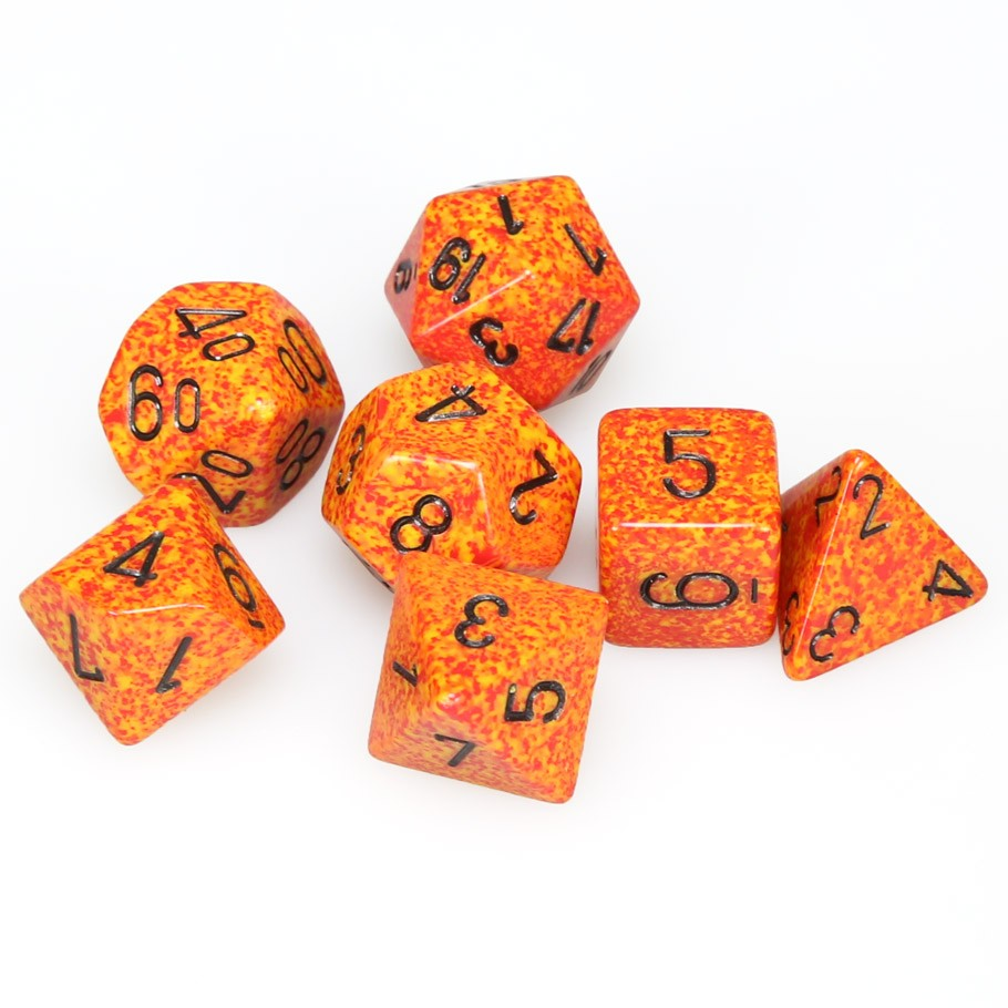 7-set Cube - Speckled Fire