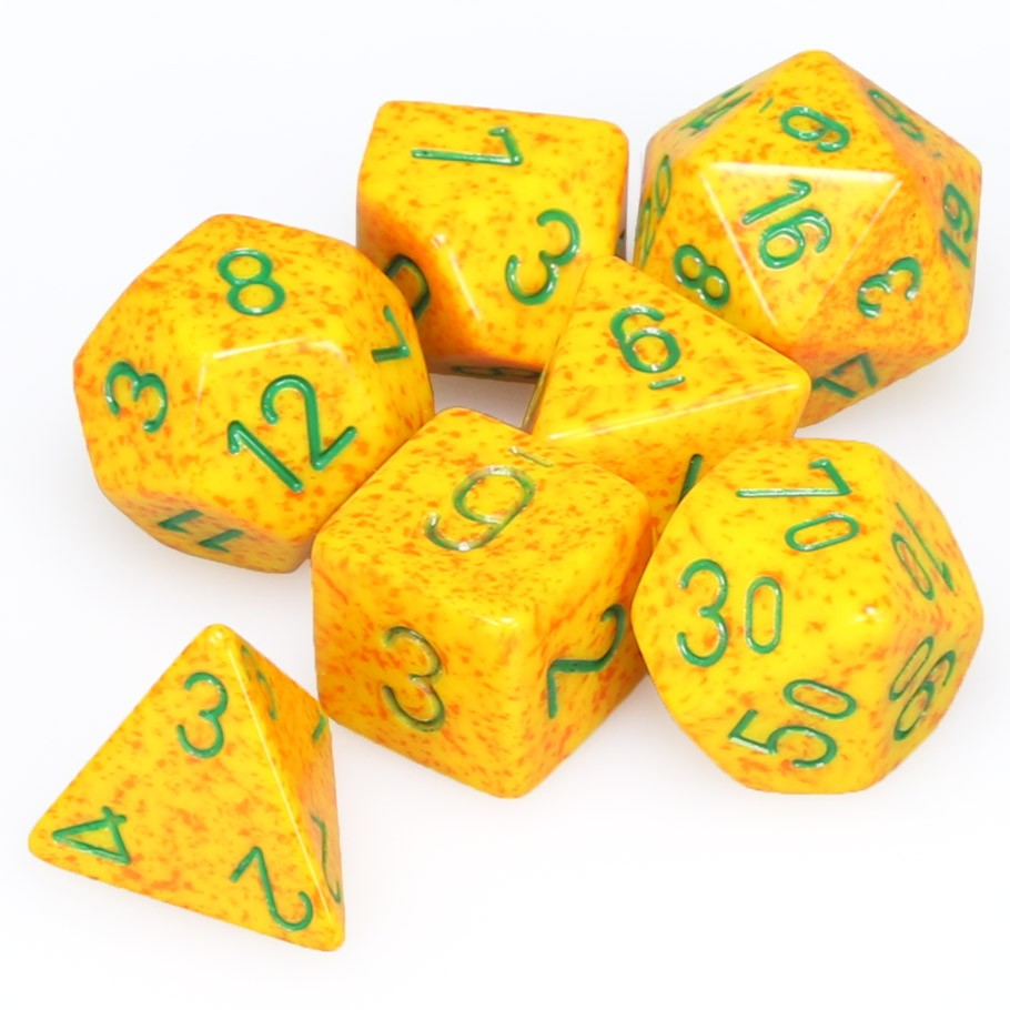 7-set Cube - Speckled Lotus