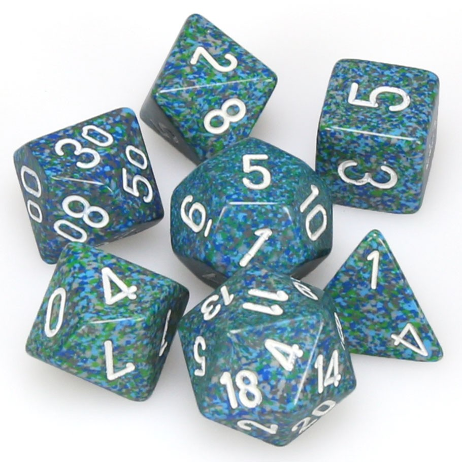 7-set Cube - Speckled Sea