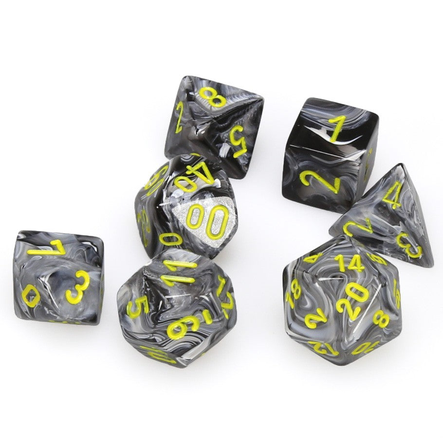 7-set Cube - Vortex Black with Yellow