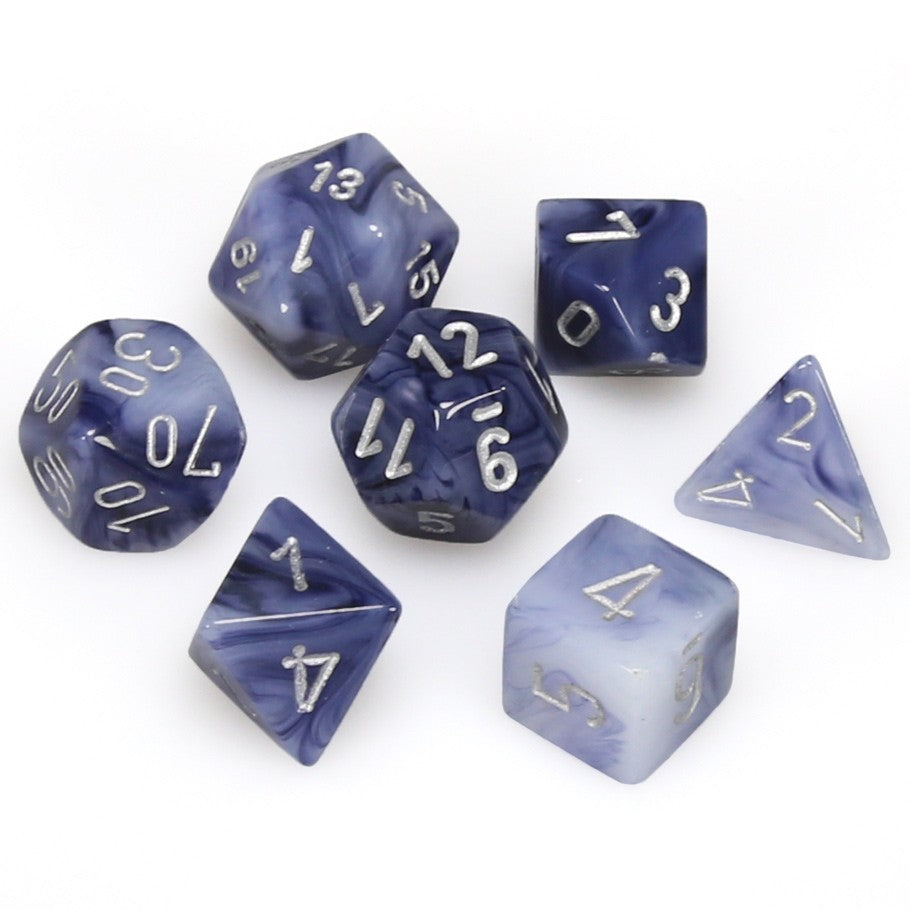 7-set Cube - Phantom Black with  Silver