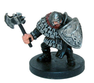 Hill Dwarf Warrior #07 Aberrations D&D Miniatures