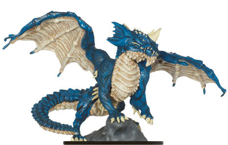 Elder Blue Dragon #15 Lords of Madness D&D Miniatures