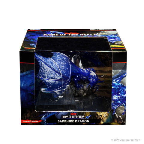Dungeons & Dragons: Icons of the Realms: Sapphire Dragon Premium Figure