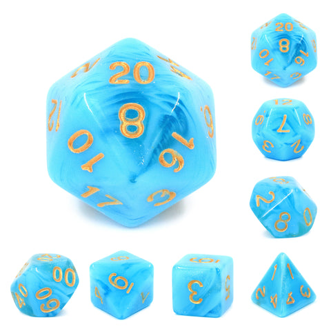 Atlantis Dice Set