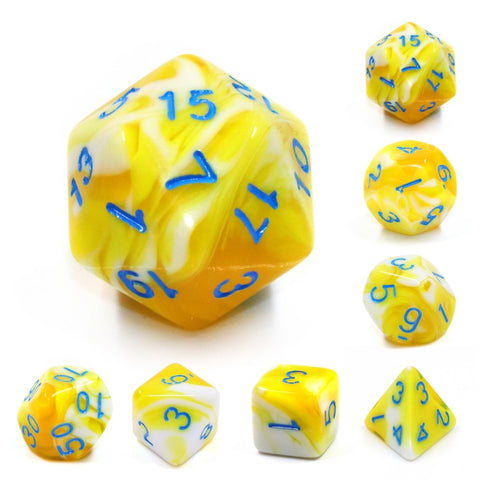 Lemon Cream Dice Set