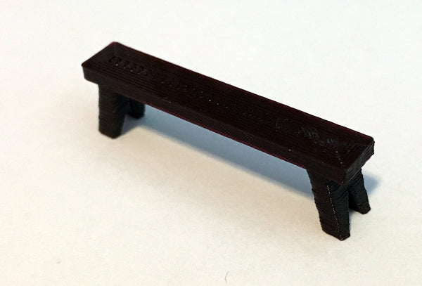 28mm Scale Role-Playing Game Miniature Tavern Bench