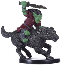 Goblin Wolf Rider - Dungeon Command: Tyranny of Goblins Single Miniature