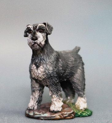 Visions In Fantasy: Schnauzer Dog (2)