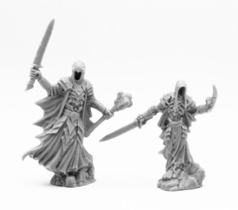 Reaper Bones Classic: Wraith Lord and Bodyguard (2)