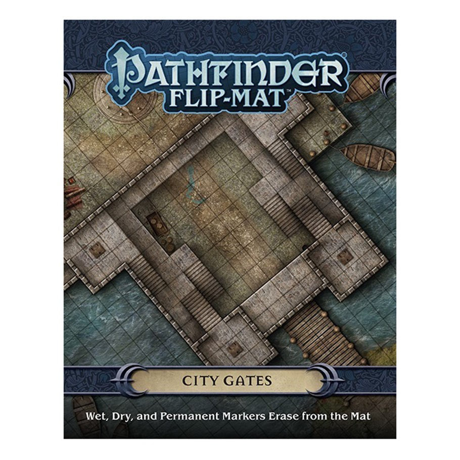 Pathfinder Flip-Mat: City Gates