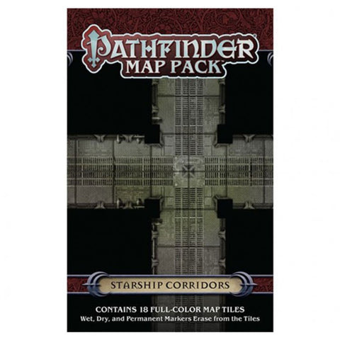 Pathfinder Map Pack: Starship Corridors