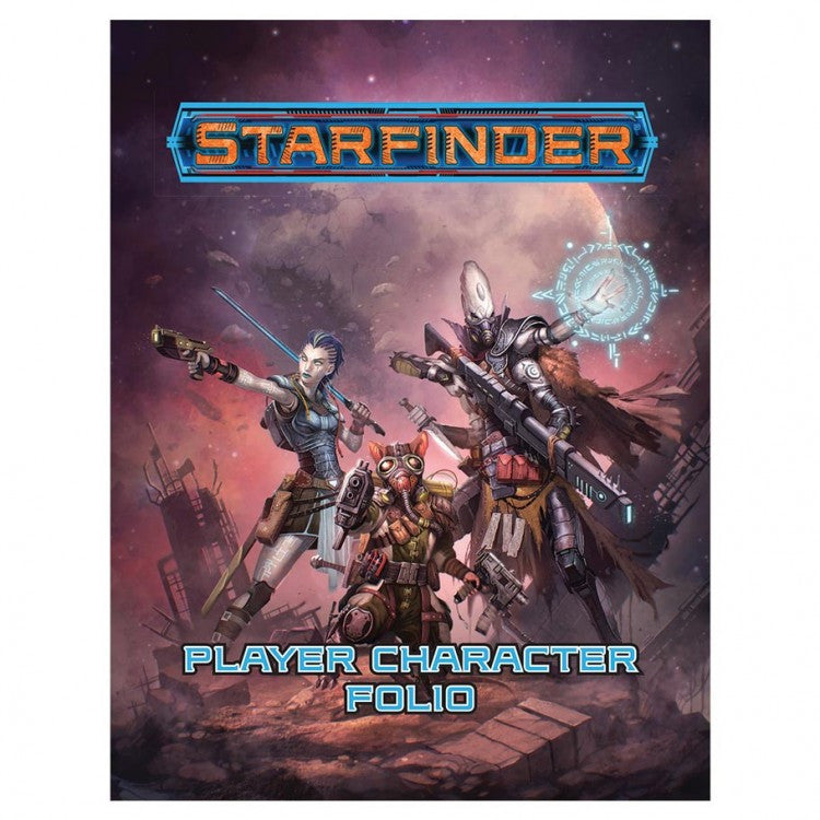 SF RPG: Player Character Folio
