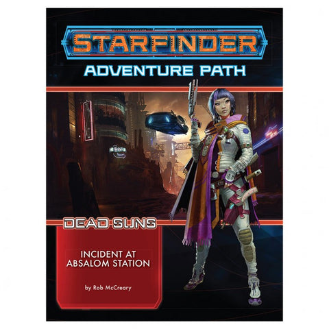 Starfinder Adventure Path: Dead Suns 1: Incident at Absalom Station