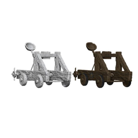 WizKids Deep Cuts Unpainted Miniatures: Catapult