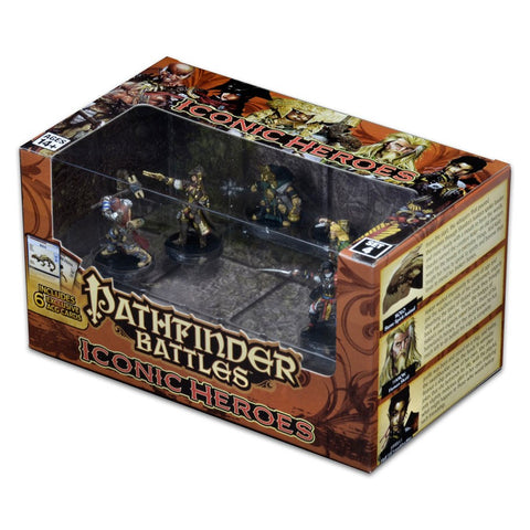 Pathfinder Battles Miniatures: Iconic Heroes Box Set IV