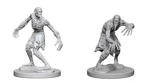 Dungeons & Dragons: Nolzur's Marvelous Unpainted Miniatures: Ghouls