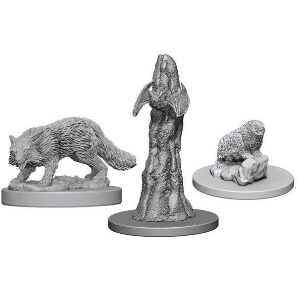 Pathfinder Deep Cuts Unpainted Miniatures: Familiars