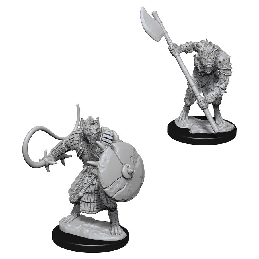Pathfinder Deep Cuts Unpainted Miniatures: Gnolls