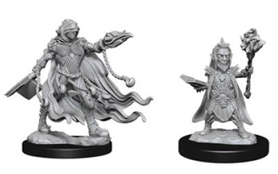 Pathfinder Deep Cuts Unpainted Miniatures: Evil Wizards
