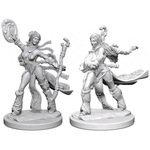 Pathfinder Deep Cuts Unpainted Miniatures: Human Female Sorcerer