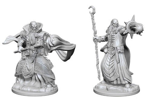Dungeons & Dragons: Nolzur's Marvelous Unpainted Miniatures: Human Male Wizard
