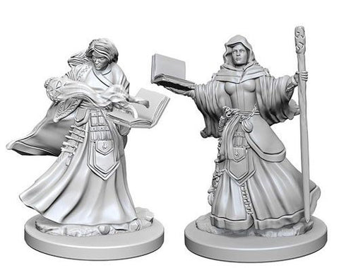 Dungeons & Dragons: Nolzur's Marvelous Unpainted Miniatures: Human Female Wizard
