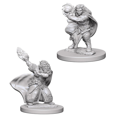 Dungeons & Dragons: Nolzur's Marvelous Unpainted Miniatures: Dwarf Female Wizard