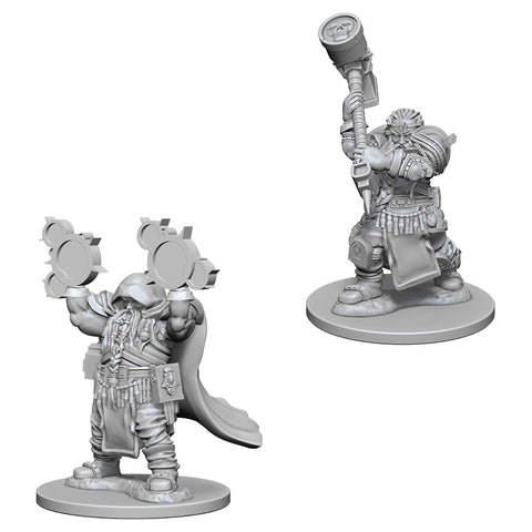Dungeons & Dragons: Nolzur's Marvelous Unpainted Miniatures: Dwarf Male Cleric