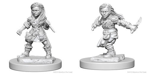 Dungeons & Dragons: Nolzur's Marvelous Unpainted Miniatures: Halfling Female Rogue