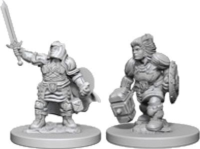 Dungeons & Dragons: Nolzur's Marvelous Unpainted Miniatures: Dwarf Female Paladin