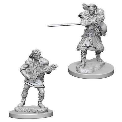Dungeons & Dragons: Nolzur's Marvelous Unpainted Miniatures: Human Male Bard