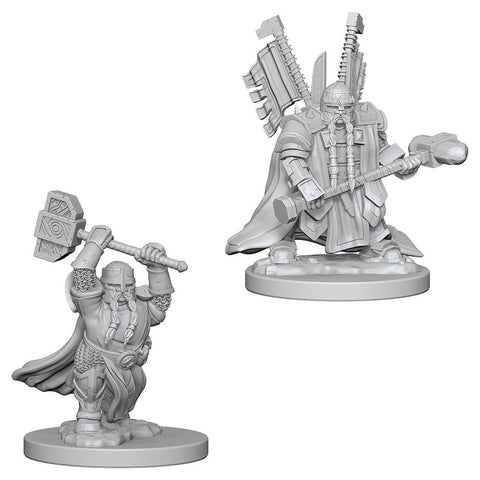 Dungeons & Dragons: Nolzur's Marvelous Unpainted Miniatures: Dwarf Male Paladin