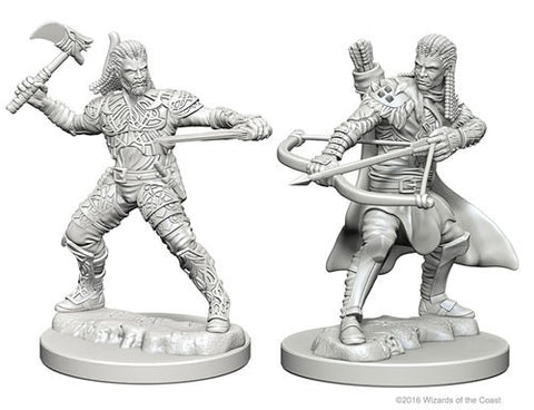 Dungeons & Dragons: Nolzur's Marvelous Unpainted Miniatures: Human Male Ranger