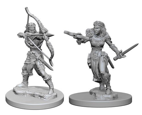 Dungeons & Dragons: Nolzur's Marvelous Unpainted Miniatures: Elf Female Ranger