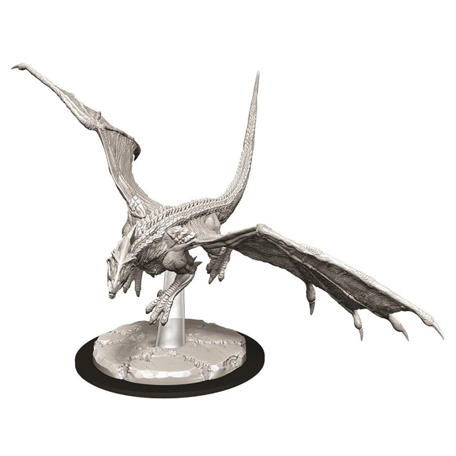 Dungeons & Dragons: Nolzur's Marvelous Unpainted Miniatures: Young White Dragon