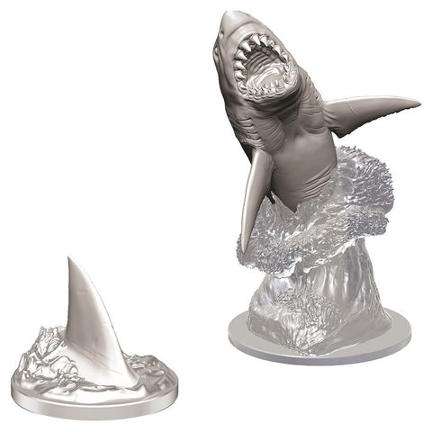 WizKids Deep Cuts Unpainted Miniatures: Shark