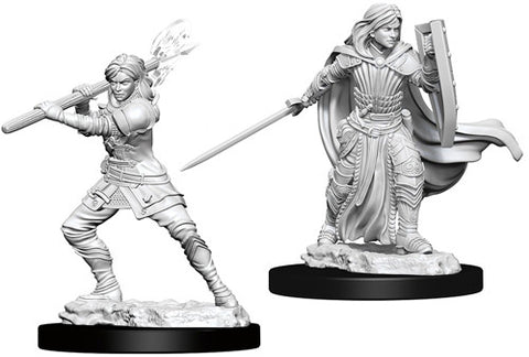 Dungeons & Dragons: Nolzur's Marvelous Unpainted Miniatures: Female Human Paladin