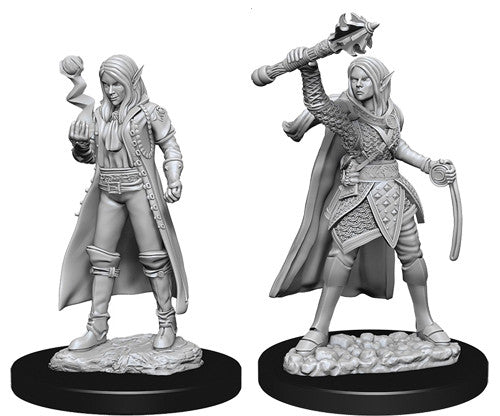 D&D Nolzur's Marvelous Unpainted Miniatures: Female Elf Cleric