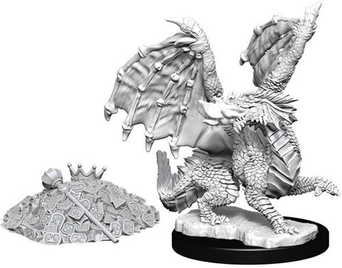 Dungeons & Dragons: Nolzur's Marvelous Unpainted Miniatures: Red Dragon Wyrmling